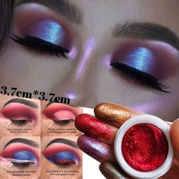 12 kolorów mieszane kolory pigment w proszku brokat mineralny Spangle Eyeshadow makijaż zestaw kosmetyków makijaż Shimmer Shining Eye Shadow tanie i dobre opinie langmanni 2 5g Glitter Powder Eyes Glitter 1Pcs
