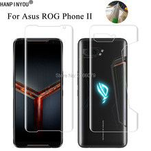 "For Asus ROG Phone 2 II ZS660KL 6.59"" Clear TPU / Matte Anti-Fingerprints Hydrogel Full Cover Soft Screen Protector Film(China)"