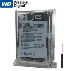 WD 160GB Laptop Hard Drive Black Disk Computer Internal HDD HD Harddisk SATA II 16MB Cache 7200 RPM 2.5