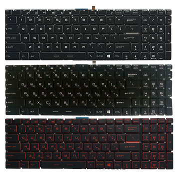 NEW Russian laptop keyboard For MSI GP62 MS-16J9 MS-16J5 MS-16J6 MS-16JB MS-16J3 RU keyboard фото