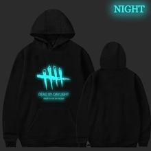 Dead By Daylight Luminous Hoodies Women Men Harajuku Casual Sweatshirt Hip Hop Hooded Coat Autumn Winter Streetwear Tops