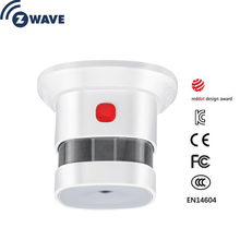 Z welle Plus Sensor Smart Home EU Smart Rauch Sensor Rauchen detektoren Home Automation Alarm System
