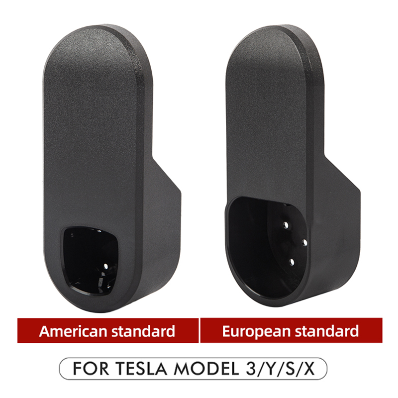 cheapest Heenvn Car Charging Cable Organizer For Tesla Model 3 S X Y Accessories Wall Mount Connector Bracket Charger Holder Adapte Three