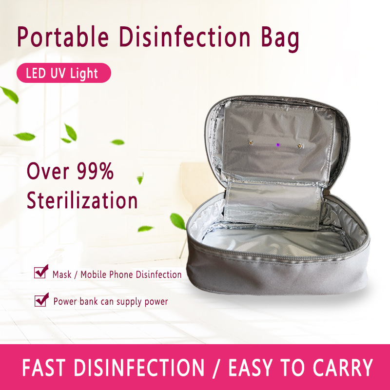 Reusable Air Mask UV Sterilizer Kit UV-C Sterilization Pack For Washable Mask Uvc Disinfection Pack Suit For Mask Without Valve