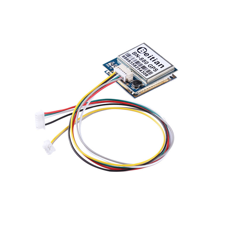 AAAE Top-<font><b>Bn</b></font>-<font><b>880</b></font> Flight Control <font><b>Gps</b></font> Module Dual Module With Cable Connecotr For Rc Multicopter Camera Drone Fpv Parts image