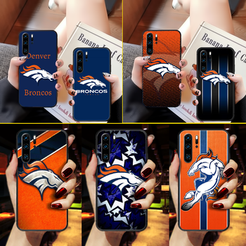 American Football Denver Bronco Phone Case Cover Hull For Huawei P8 P9 P10 P20 P30 P40 Lite Pro Plus smart Z 2019 black image