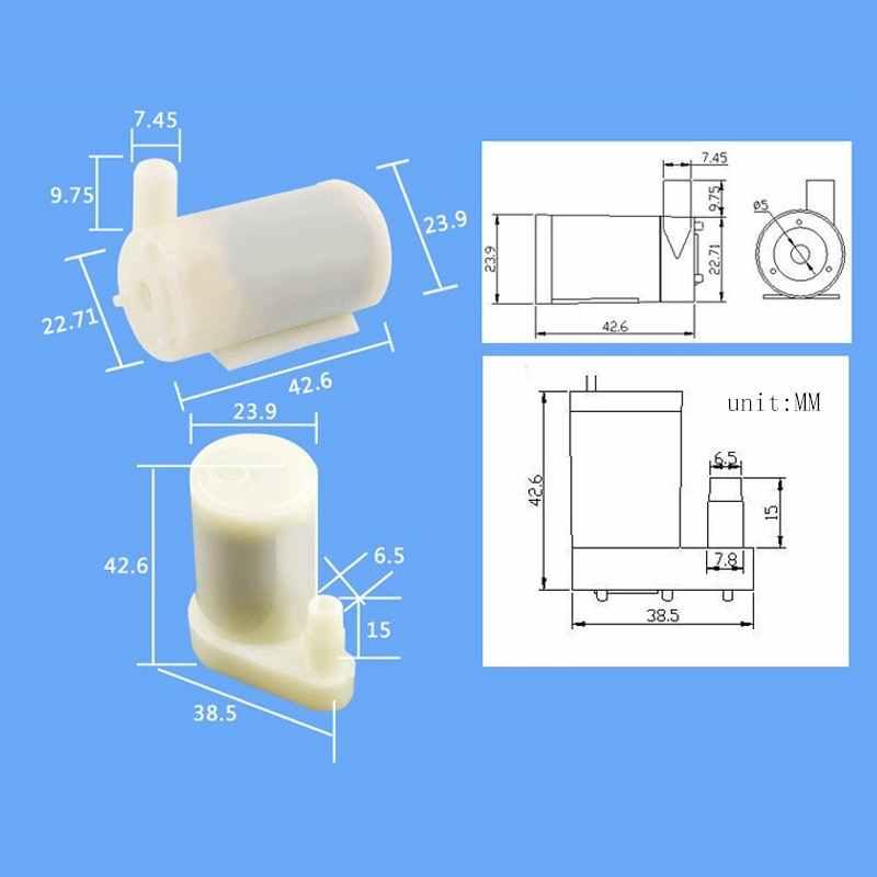 1pc Pratical Mini Air Pump Micro Pressure Oxygen Pump 30KPa Pressure DC3V For Sphygmomanometer Aquarium Fish Tank Accessories