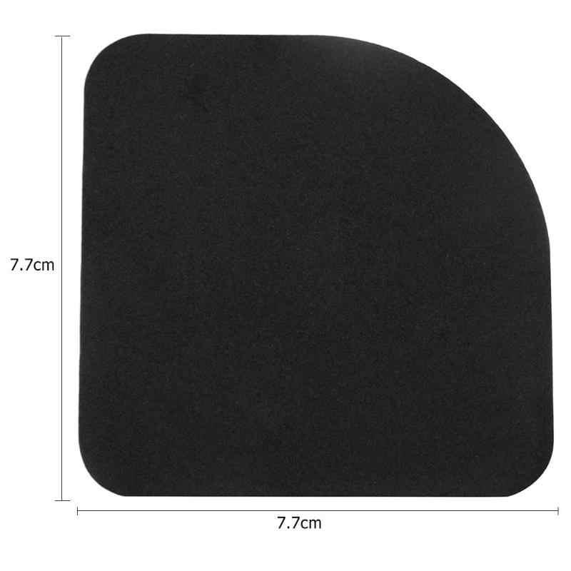 4 pces máquina de lavar anti vibração almofada à prova de choque antiderrapante pé pés tailable esteira geladeira piso móveis protetores