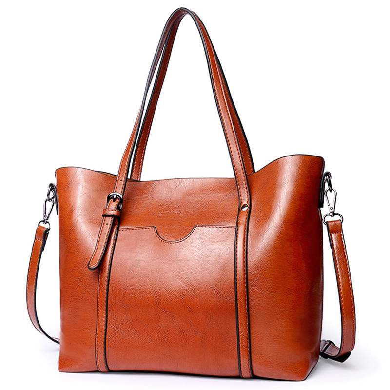 Women Handbags Tote Shoulder Bags For Women Large PU Leather Top Handle Satchel Messenger Bag Female Versatile Handbag