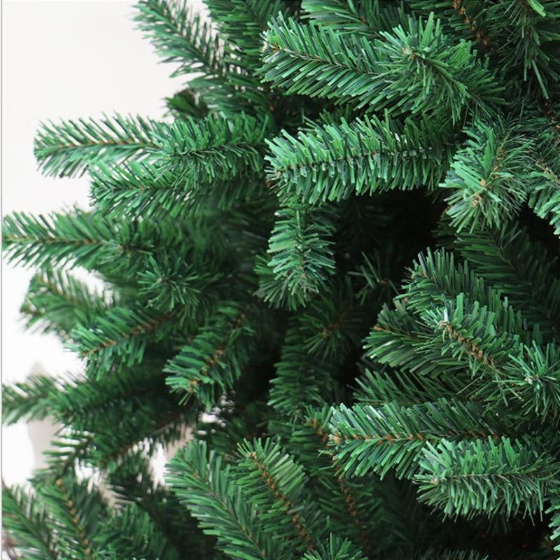 240 см новогодняя елка ПВХ вечерние домашние рождественские украшения для отеля Рождественская елка - 3