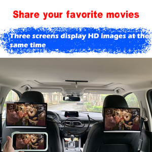 Image 3 - 13.3 Inch Android 9.0 Car Headrest Monitor Same Screen 4K 1080P Touch Screen WIFI/Bluetooth/USB/SD/HDMI/FM/Mirror Link/Miracast