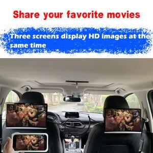 Image 3 - Monitor para reposacabezas de coche Android 13,3, pantalla táctil de 9,0 pulgadas, 4K, 1080P, WIFI, Bluetooth, USB, SD, HDMI, FM, mirrorlink, Miracast