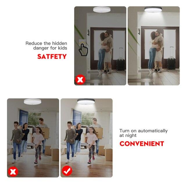 Lâmpada com luz de sensor de movimento PIR LED Detector sensível à luz noturna Bombillas 12W 18W E27 Lâmpada bulbo LED para corredores de escadas residenciais Lâmpada de parede com detector de movimento infravermelho