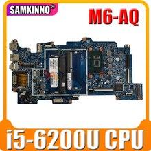 Для HP X360 M6-AQ 15-AQ материнская плата портативного компьютера с SR2EY i5-6200U Процессор 856279-601 856279-001 аккумулятор большой емкости 448.07N07.0021 100% тестирова...