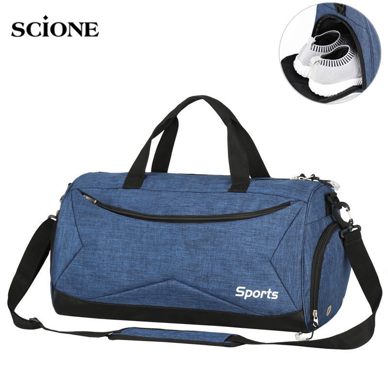 Dry Wet Swimming Gym Bags Sac De Sport Handbags Gymtas Yoga Mat Bag For Men Fitness Training Sports Tas Travel Outdoor XA617WA