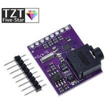 Tzt si4703 rds fm sintonizador de rádio avaliação breakout módulo para arduino avr pic arm rádio serviço de dados filtragem módulo portador
