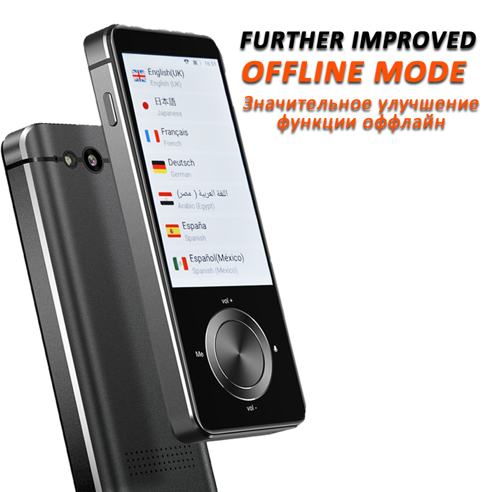 CTVMAN  Instant Voice Translator offline Language Translator In Real Time Smart Voice Translator Portable Instant Translators