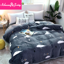 Coral Fleece Blanket Office Napping Blanket Sheets Single Double Dormitory Student Bed Mattress Flannel Cover Blanket