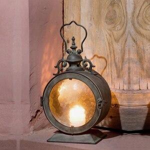 W stylu Vintage Metal + szkło europejskiej ścianie wisi świecznik ślub świecznik wisząca latarenka strona główna ślub dekoracyjne świeca