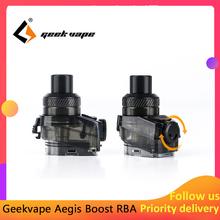 Nowy geekvape aegis Boost RBA Pod elektroniczny papieros 2ml pojemność RDTA Atomizer dla geekvape aegis Boost Kit tanie tanio Geekvape Aegis Boost RBA 2ml Z tworzywa sztucznego Wymienne 1pcs pack