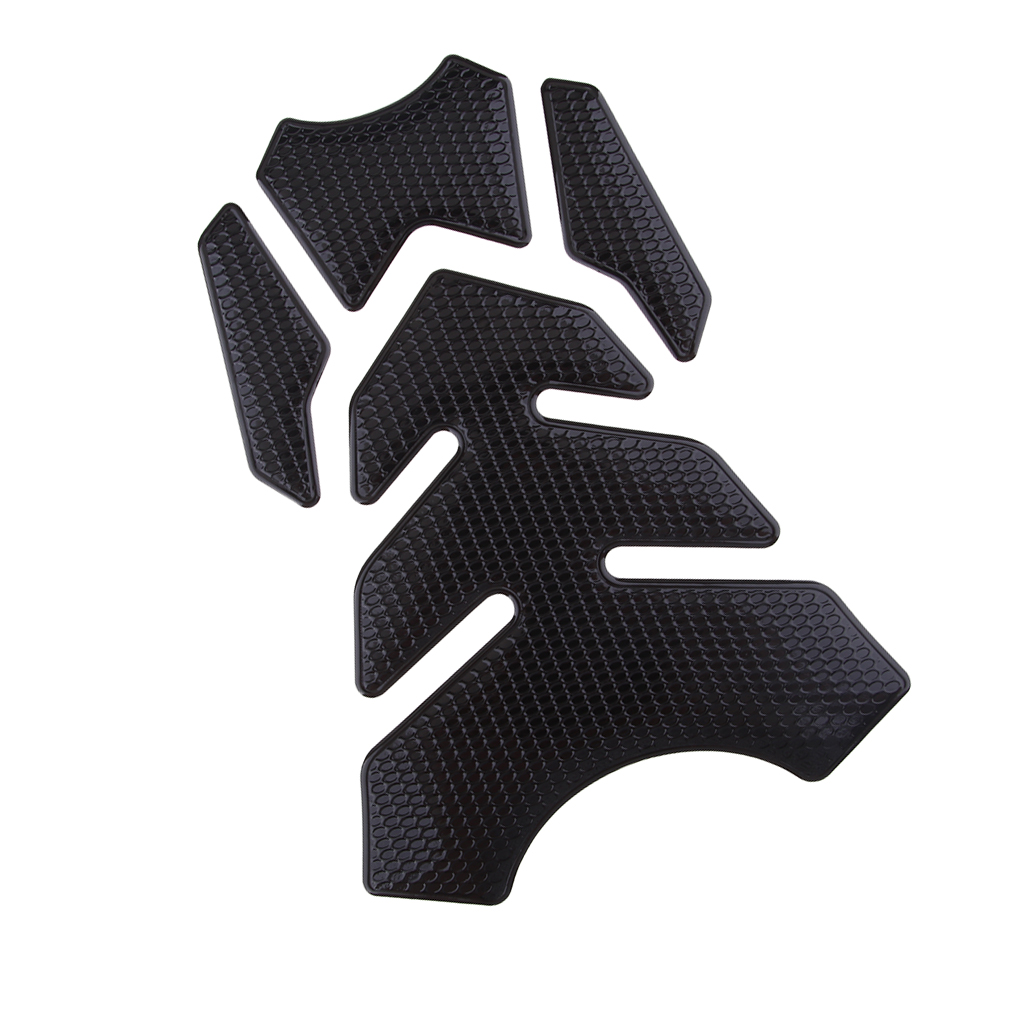 Fits for Yamaha Honda Kawasaki Universal 3D Motorcycle Oil Gas Fuel Tank Pad Protector Sticker Decal for Motorbike image