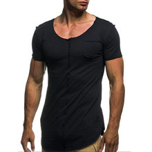 Verano 2021 Camiseta para hombre de Siksilk Camiseta informal con cuello redondo Camiseta para hombre ropa informal estilo Hip Hop Camiseta d