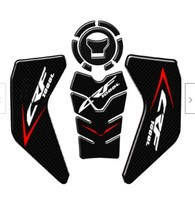 1pc Set Motorcycle Carbon Fiber Gas Tank Pad Epoxy Resin Protector Sticker For Honda CRF1000L Exterior Parts Styling Mouldings