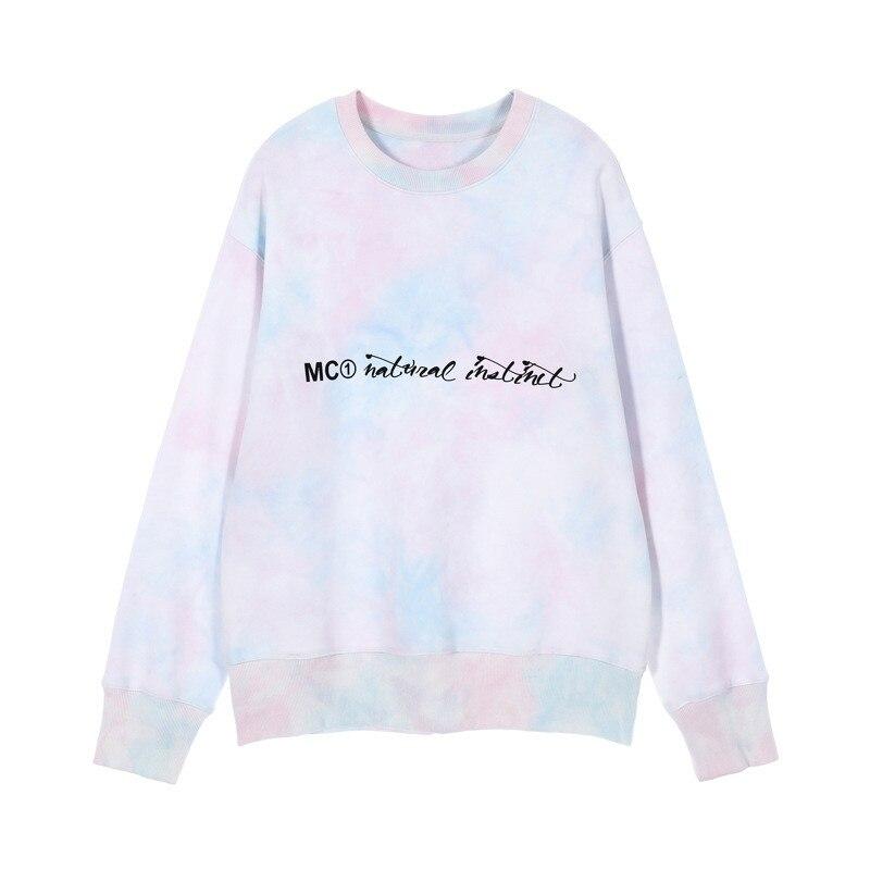 Hoodies Women 2019 Autumn New Creative Loose Korean Gradient Womens Pullover Long-sleeved Streetwear Sudadera