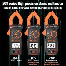 Digital Clamp Meter AC Current 4000/6000 Counts True RMS Multimeter DC/AC Voltage Tester Hz Resistance Capacitance NCV Ohm Tests