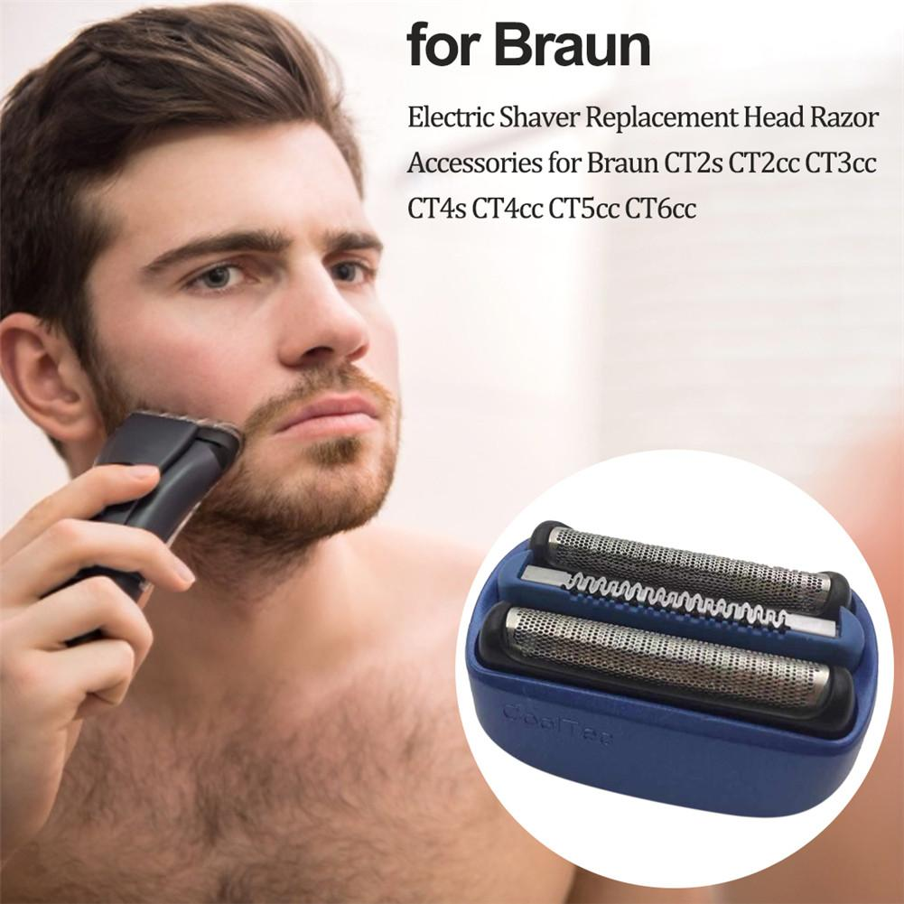 Braun 40B Blade Foil And Cutter Replacement Razor Head For CoolTec Shaver Series CT2s CT2cc CT3cc CT4s CT4cc CT5cc CT6cc