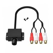 Audio-Amplifier Volume-Control Level-Interior Knob Boost Digital-Adapter Car-Stereo-Accessories