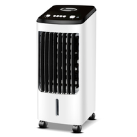 Air conditioning fan Refrigeration fan bedroom Mute Humidification fan Air cooler Household Mobile Air Conditioning