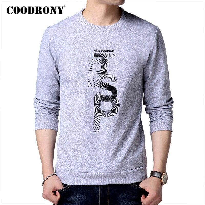 COODRONY Brand Fashion Letter Print Hoodie Men 2020 Autumn New Arrivals Mens Sweatshirt Cotton Clothing Winter Man Hoodies C4005