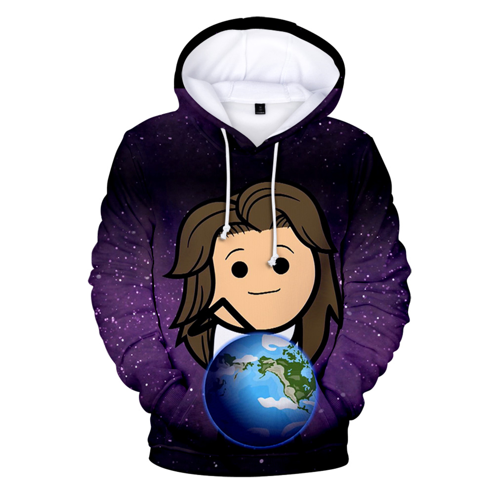 2019 3D The Cyanide & Happiness Show Hoodies Sweatshirts Hooded Pullover sweatershirts Men/Women Autumn Winter Hoodies image