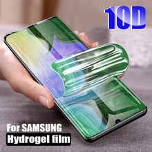 4pcs/Lot 3D Full Coverage PET Soft Film For Samsung Galaxy S10 Plus S10e Lite Note 10 Pro Screen Protector Not Tempered Glass(China)