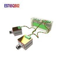 2pcs sonion 정전기 드라이버 est65qb02 쿼드 러플 마이크로 드라이버 슈퍼 트위터 더블 dizygotic 카트리지 쌍