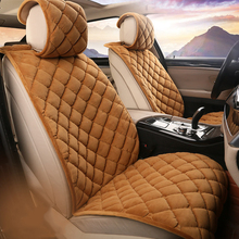 2-5  kits car seat cover  fur seat cover universal car covers auto accessories interior Four seasons cushion cover universal auto car seat cover auto front rear chair covers seat cushion protector car interior accessories 3 colors