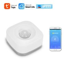 PIR Motion Sensor Wireless Infrarot Detektor Sicherheit Einbrecher Alarm Sensor Tuya APP Control Kompatibel mit IFTTT Smart Home