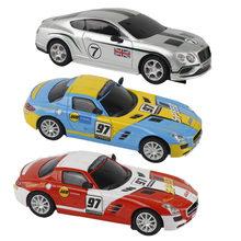 Scalextric carro elétrico pista de corrida para crianças meninos presente slot corrida controle remoto a terceira geração 1:43