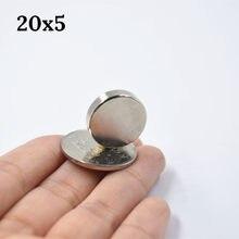5/10/20 sztuk magnes neodymowy rzadka ziemia super silny okrągły stały elektromagnes na lodówkę NdFeB nickle magnetyczny dysk
