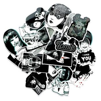 Horror naklejki Anime księga gości walizka naklejki na deskorolkę Laptop bagaż Graffiti śmieszne fajne dekoracje wodoodporna naklejka paczka 21 sztuk tanie i dobre opinie CN (pochodzenie) 0 01cm 6-10cm Horror Anime Stickers Scrapbook Suitcase Skateboard Laptop Luggage Graffiti Funny Cool Decoration Waterproof Sticker Pack 21PCS
