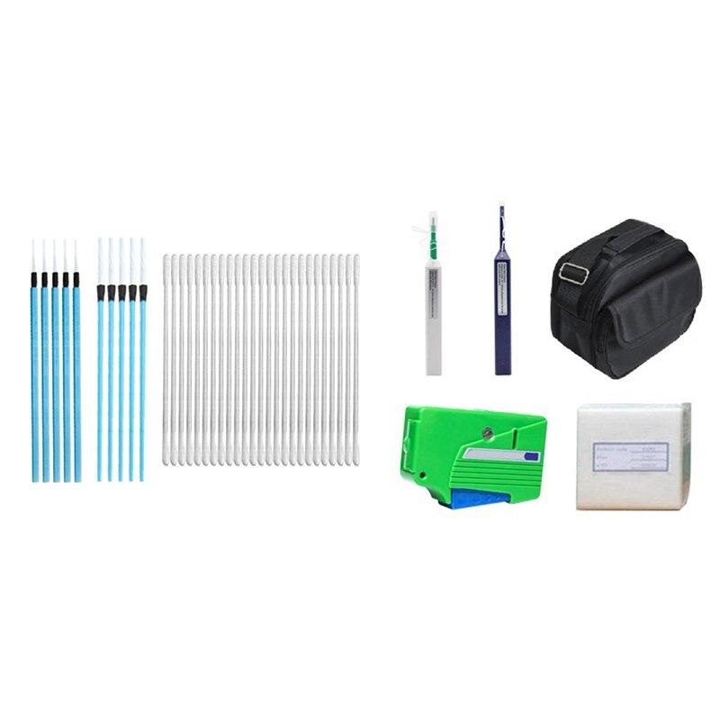 2.5mm, kit de ferramentas ópticas para limpeza de fibra