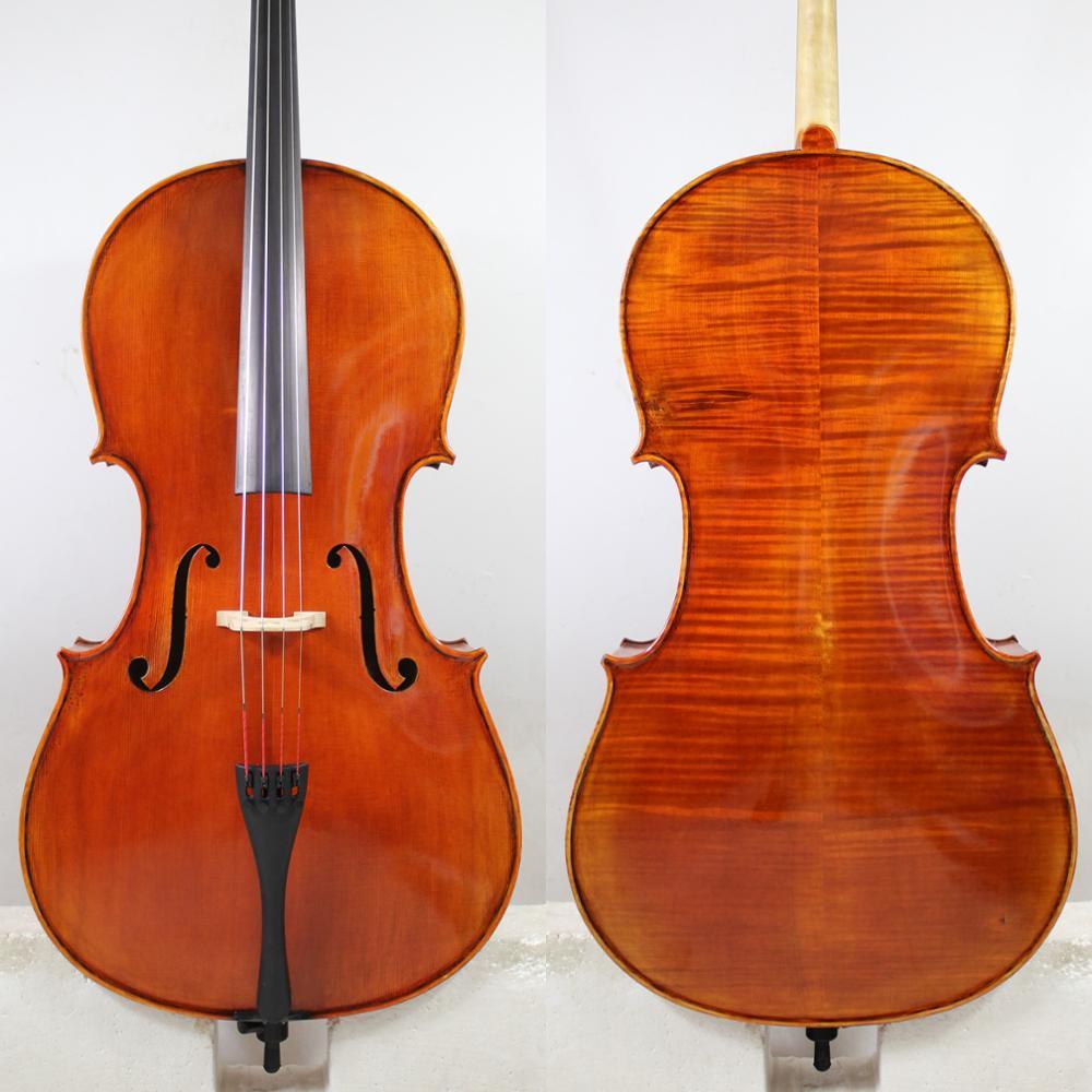 Fabulous Cello Stradivari 1712 Davidov Cello 4/4 + Free Case, Bow, Rosin,Shipping!