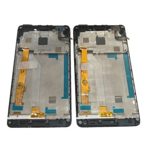 """Image 4 - Orijinal 5.0 """"Lenovo VIBE P1M P1Ma40 P1mc50 LCD ekran + dokunmatik ekran Digitizer meclisi için P1Ma40 P1mc50 LCD çerçeve ile"""