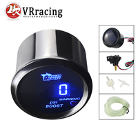 VR   Black Turbo Boost gauge Psi digital led 2 inch /auto gauge/tachometer/car meter/auto parts/car parts VR TAG05 BP