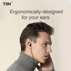 Image 5 - AK TRN ST1 1BA+1DD Hybrid Metal In Ear Earphone IEM HIFI DJ Monitor Running Sport Earphone Earplug Headset Headplug BA5/v90