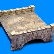 1:35 Scale Die-casting Resin Scene Model 35908 Resin Stone Bridge Model Unpainted Free Shipping