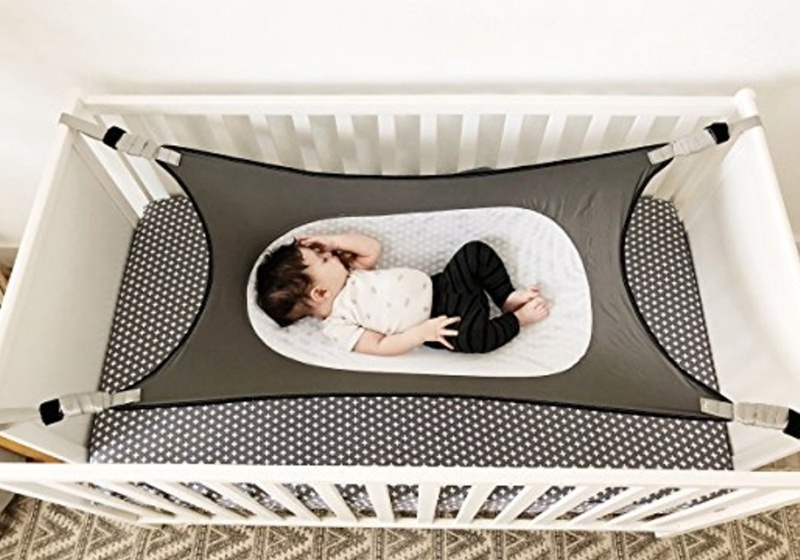 for 3 Months-6 Years Old Detachable Portable Better Sleep Hanging Swing Bed Frame Accessories Pure/Cotton Baby Hammock Swing PITCHBLA Baby Hammock for Crib