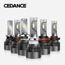 цена на CEDANCE Car LED Driving Headlight  HB3 H7 H1 HIR2 HB4  H4 high and low beam 60W/Pair 6000K auto headlight LED light 12V