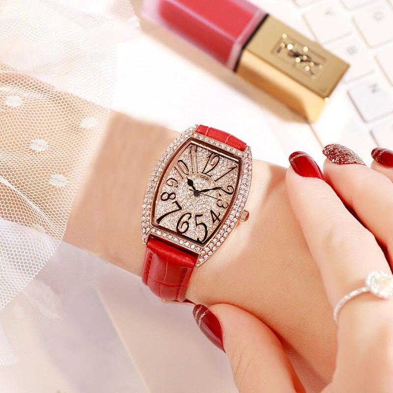 feminino relógio quartzo senhoras relógio de pulso